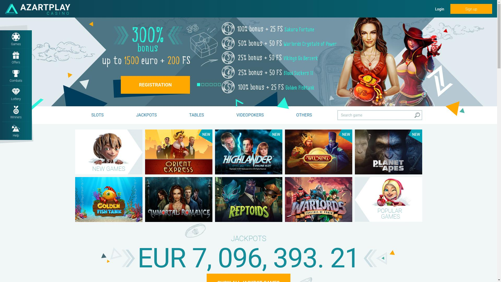 официальный сайт azartplay casino регистрация