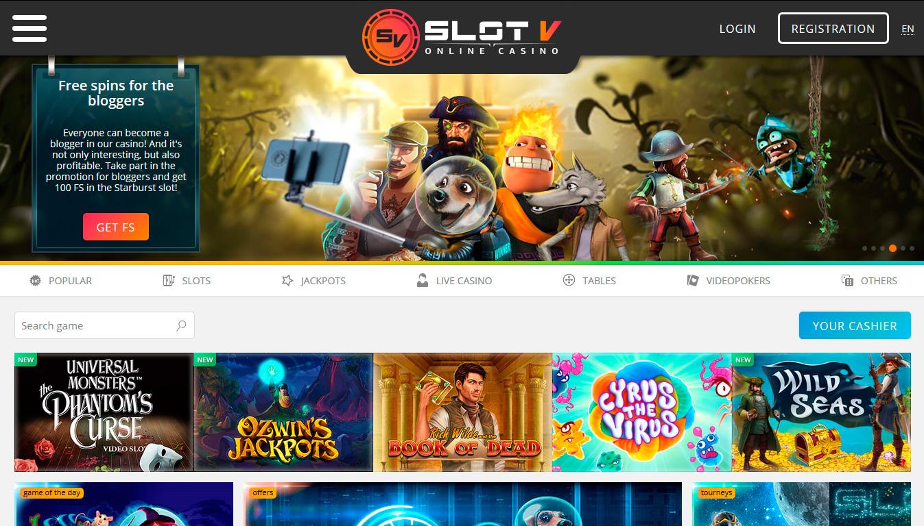 онлайн казино slotv доступ к сайту